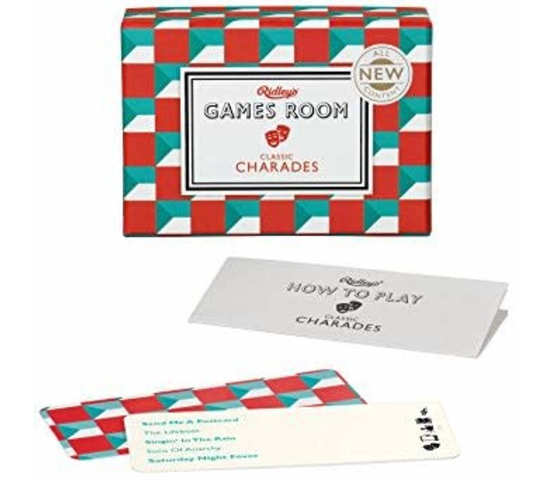 Ridley's Games Room Classic Charades Card Game