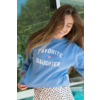 Sub_Urban Riot Favorite Daughter Sweatshirt Light Blue