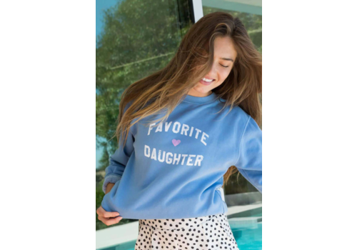 Sub_Urban Riot Favorite Daughter Sweatshirt Light Blue