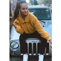 Yellow Mustard Short Jacket
