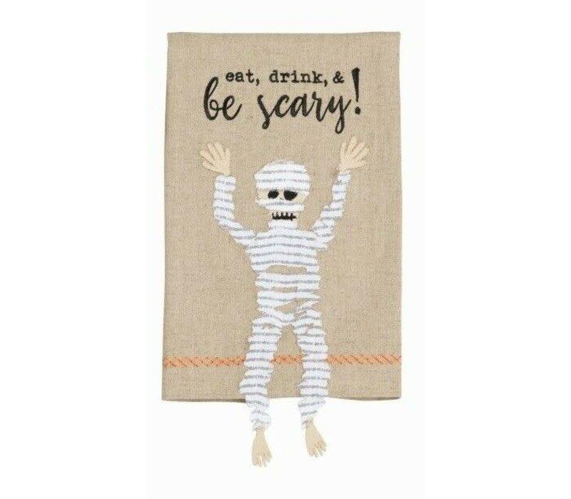 Mummy Dangle Leg Towel