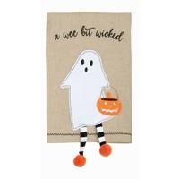 Ghost Dangle Leg Towel