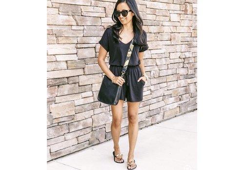 Black Mini Vegan Leather Purse- No Strap