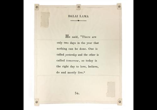"""Sugarboo & CO. Dalai Lama  Tarp -46""""x 57"""""""