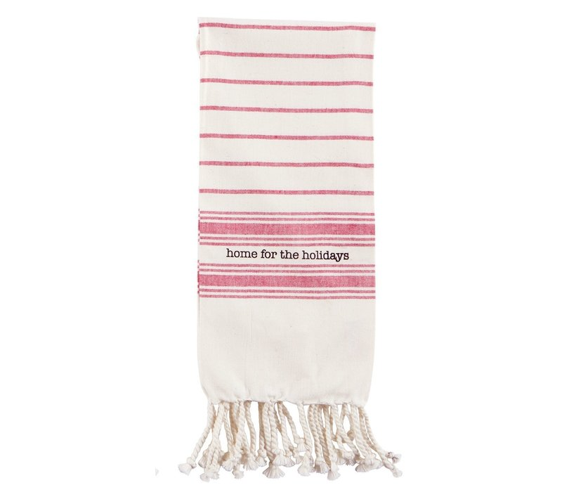 Red Home Turkish Towel