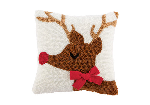 Reindeer Mini Hook Pillow