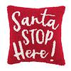 Santa Stop Mini Hook Pillow