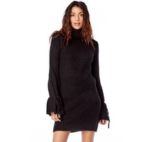 Dream Catcher Dress-Black