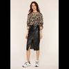 Lynda Skirt Black Leather