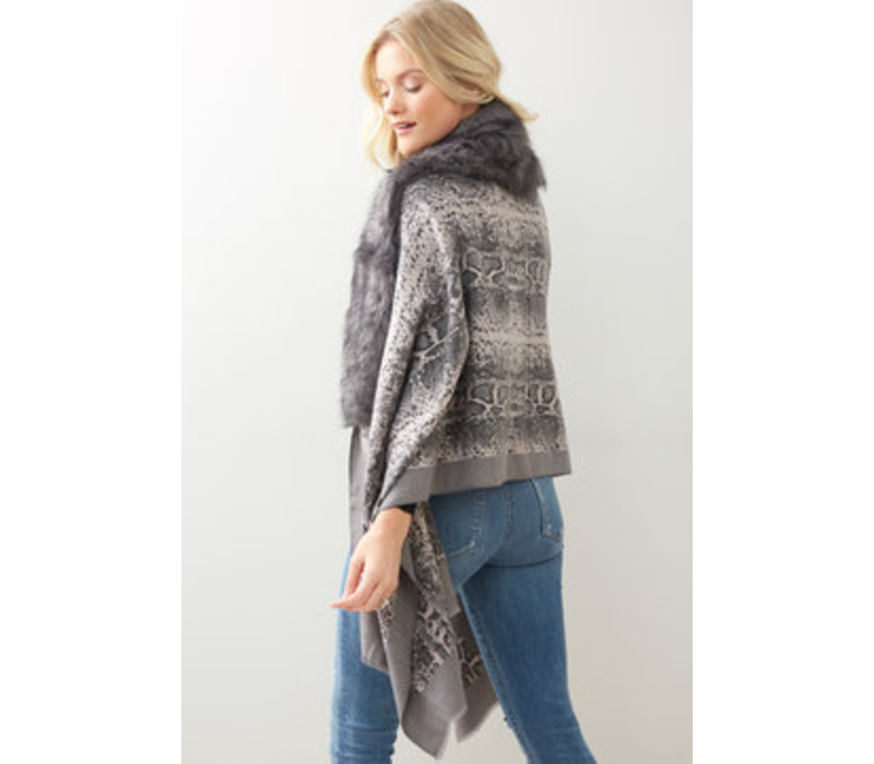 Clancy Scarf Charcoal