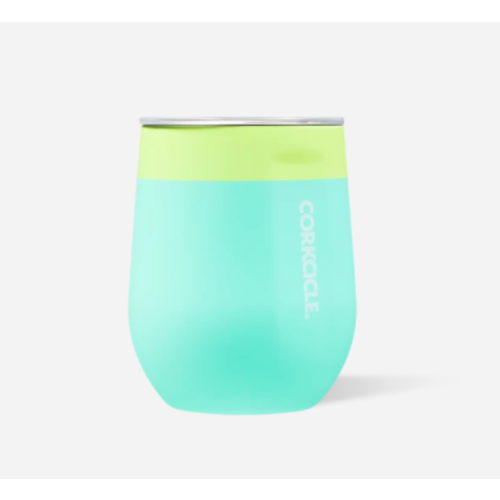 12oz Stemless Color Block Limeade