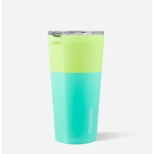 16oz Tumbler Color Block Limeade