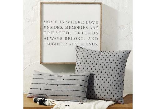 Home Resides Frame Wall Art