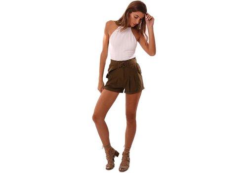 Ruth Olive Shorts