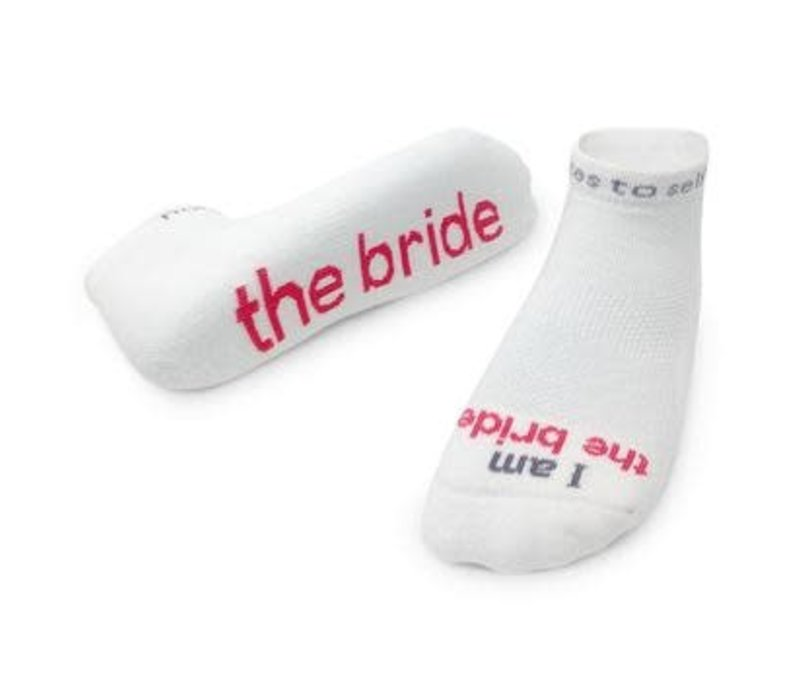 Notes To Self® 'I Am the Bride'® Socks