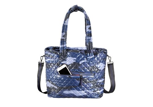 Kitchen Sink Tote Blue Camo