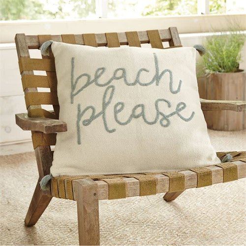 Beach Please Boulce Pillow