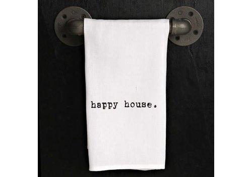 Happy House Towel