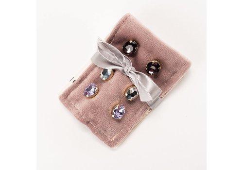 Kinsley Earring Gift Duet- Lavender