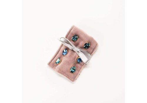 Kinsley Earring Gift Duet- Sapphire
