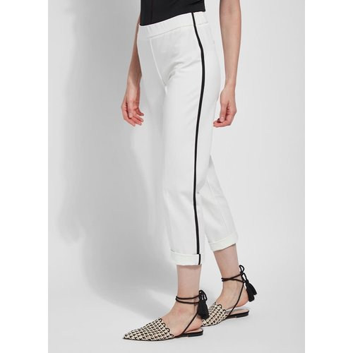 Camilla Ankle Pant (4 Way Stretch Twill) Off-White