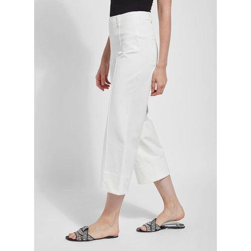 Giorgia Wide Leg Crop (4 Way Stretch Twill)