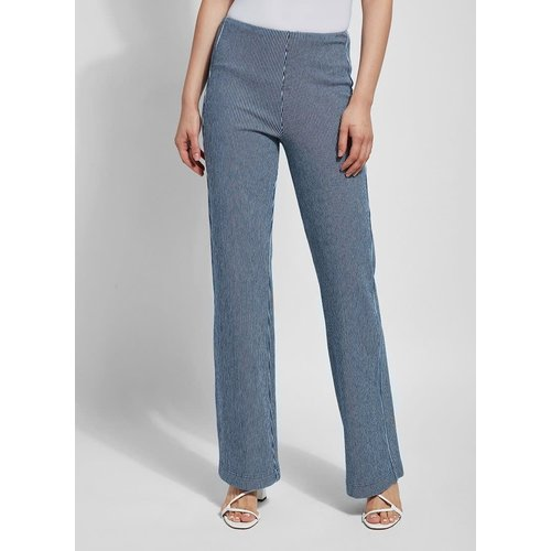 Denim Trouser Pattern/ Denim Pinstripe