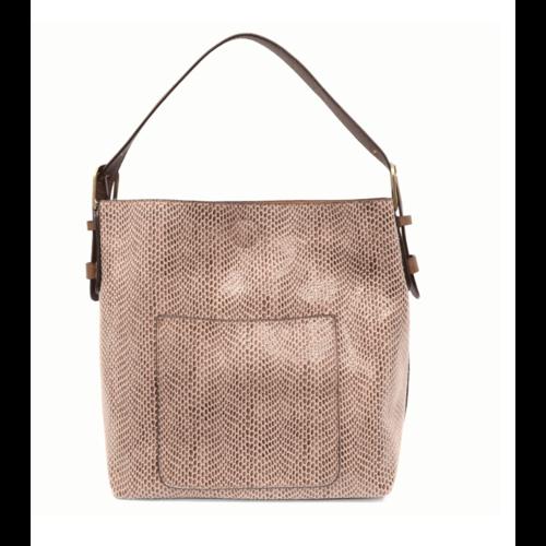 Python Sara Bucket Bag- Mauve