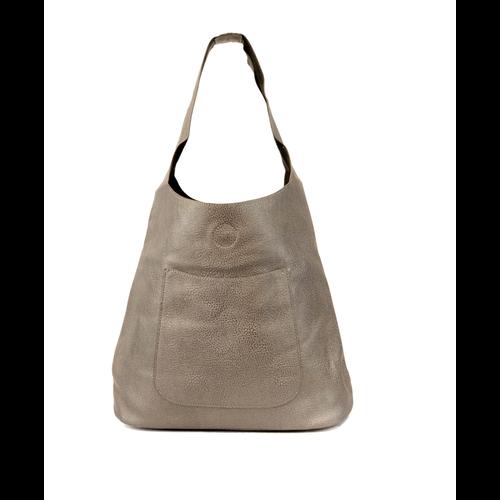 Pewter Molly Slouchy Hobo Handbag