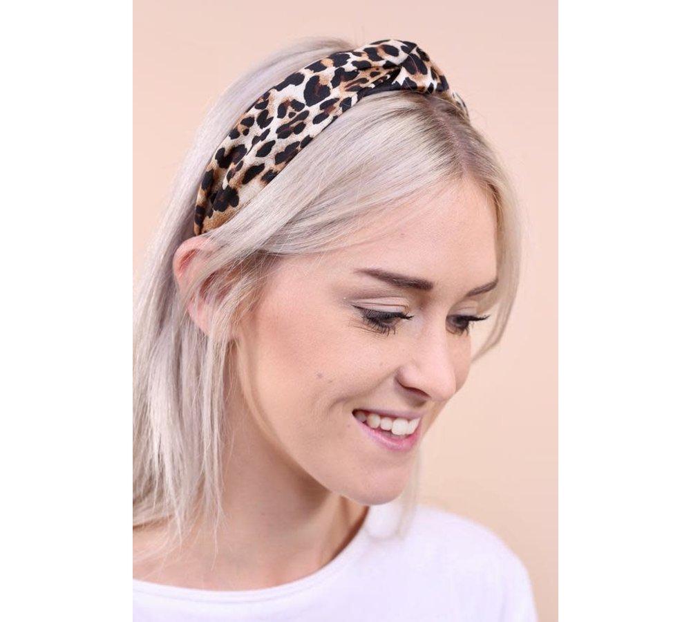 Leston Leopard Print Headband