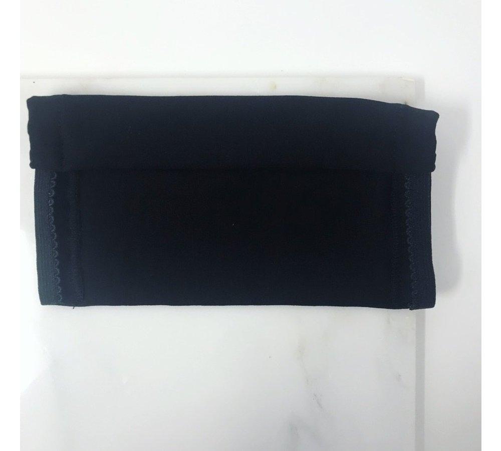 2 Ply Cotton/Lycra Women's Face Mask (Black)