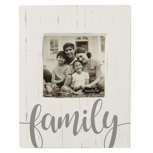 Family Block Frame-White