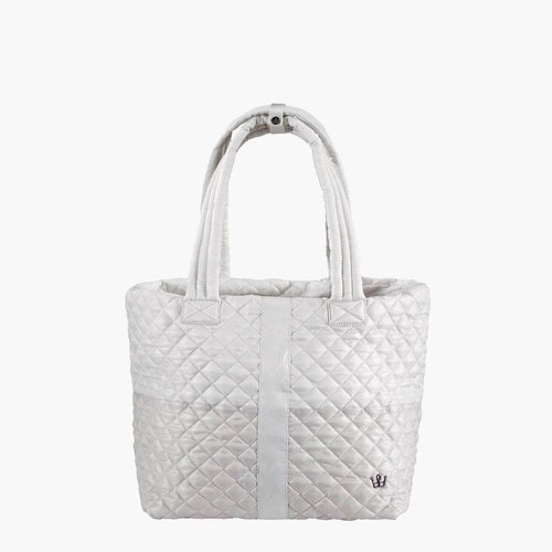 Large Wingwoman Tote- Champagne Color Block