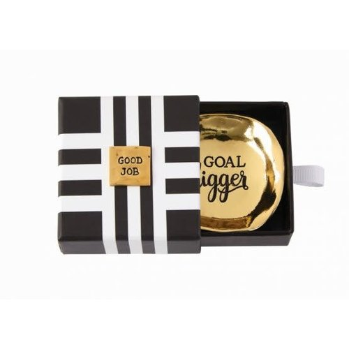 Goal Digger- Graduation Mini Metal Dish