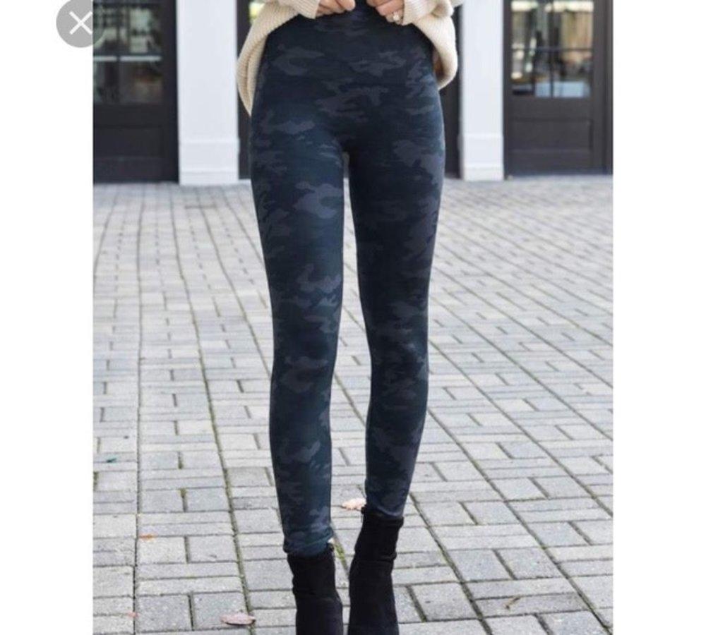 Black Camo Seamless Legging -Look at me Now