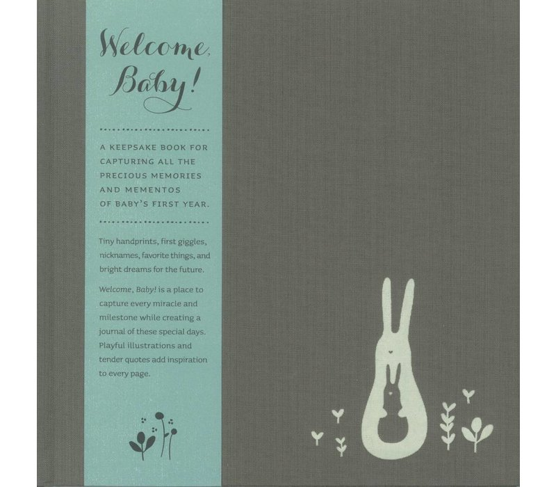 Welcome, Baby! Boy Book