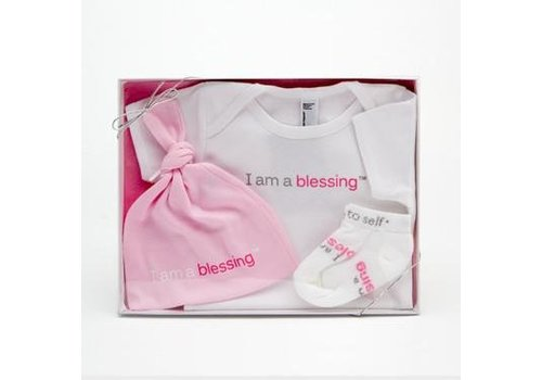 Notes To Self®  Baby Blessing Set - Girls