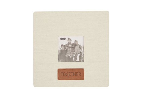 Together Linen & Leather Frame