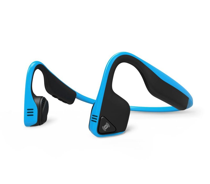 Wireless Trekz Titanium Headphones - Ocean Blue