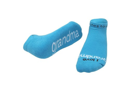 Notes To Self® 'I Love Grandma'® Socks