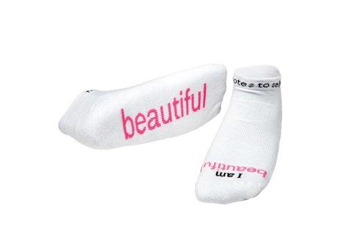 Notes To Self® 'I Am Beautiful'™ Socks