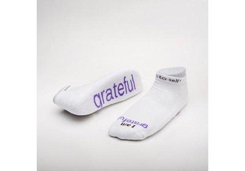 Notes To Self® 'I am Grateful'™ Socks