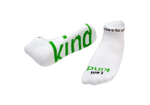 "Notes To Self® ""I am Kind"" Socks"