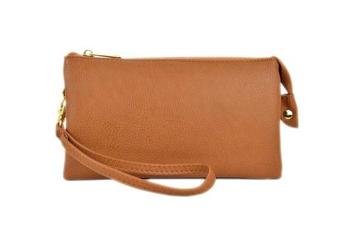 3-in-1 Solid Purse - Camel