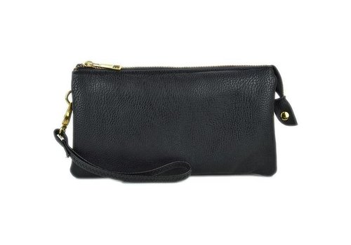 3-in-1 Solid Purse - Black