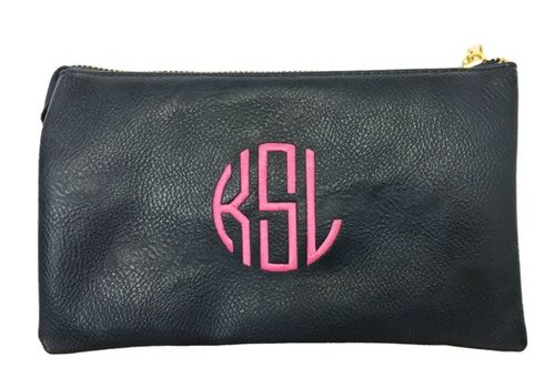 3-in-1 Solid Purse - Navy