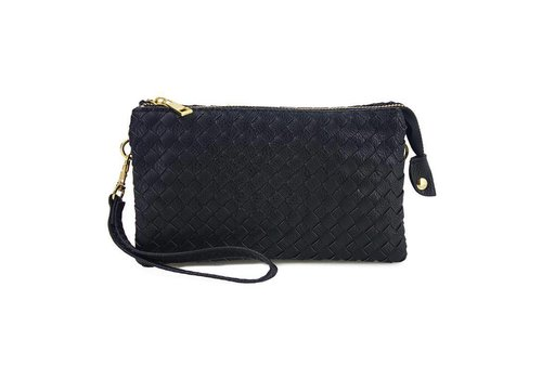 AH!dorned 3-in-1 Woven Purse - Black