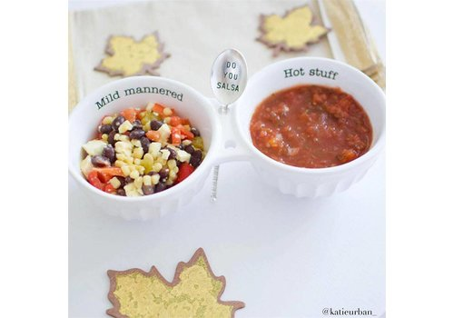 "Salsa Double Dip Set ""Live everyday like it's taco Tuesday"""