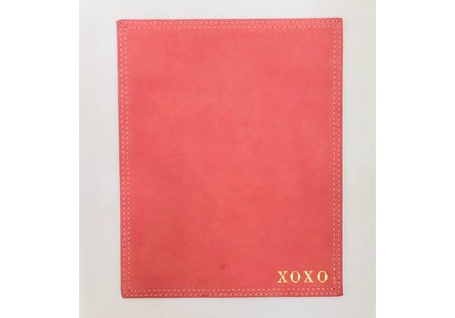 "Flamingo ""XOXO"" Chandler Suede Mousepad"