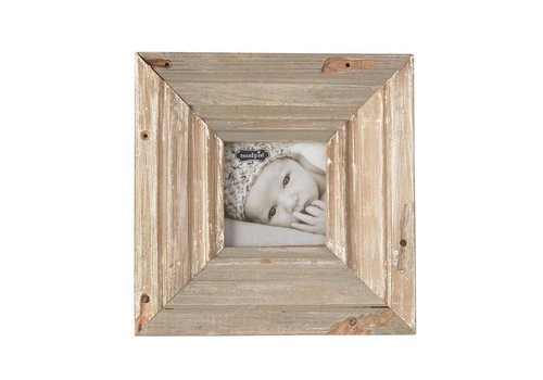 "4"" x 4""  RECLAIMED WOOD FRAME"